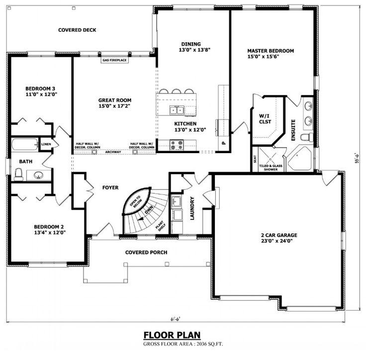 Best 25 custom house plans ideas on pinterest dream for Custom dream home floor plans