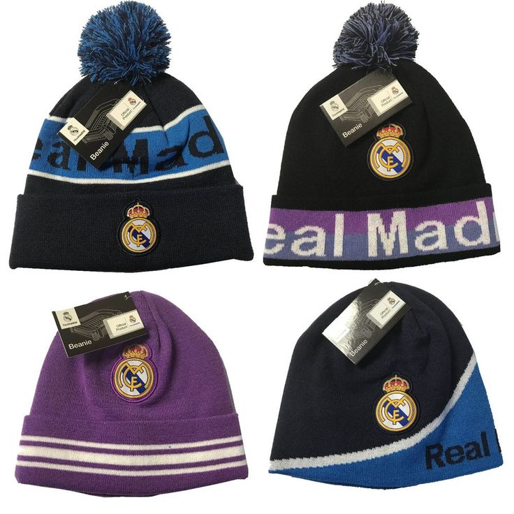 REAL MADRID  BEANIE OFFICIAL WINTER SKULL CAP AUTHENTIC  #RhinoxorIconSport #RealMadrid