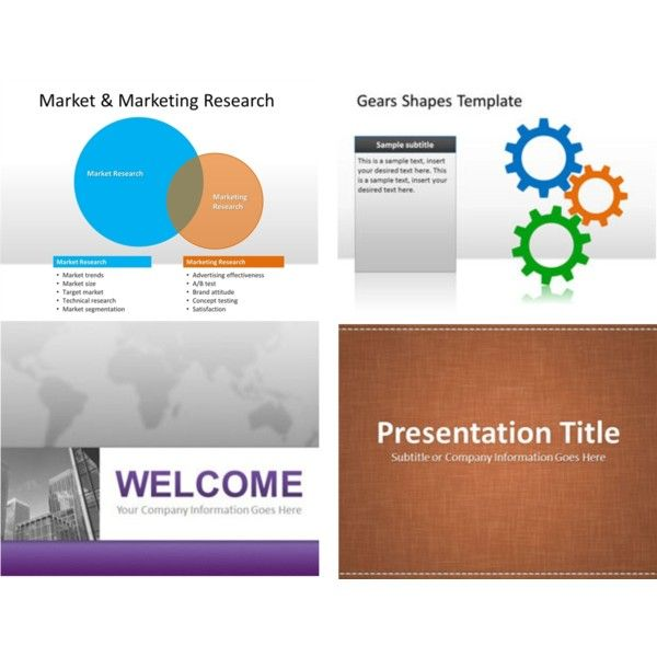 Free Tunnel Powerpoint Background And Technology Template For