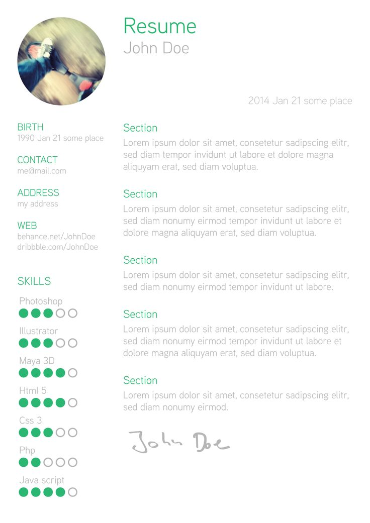 49 best Resume images on Pinterest Creative curriculum, Resume - make my own resume