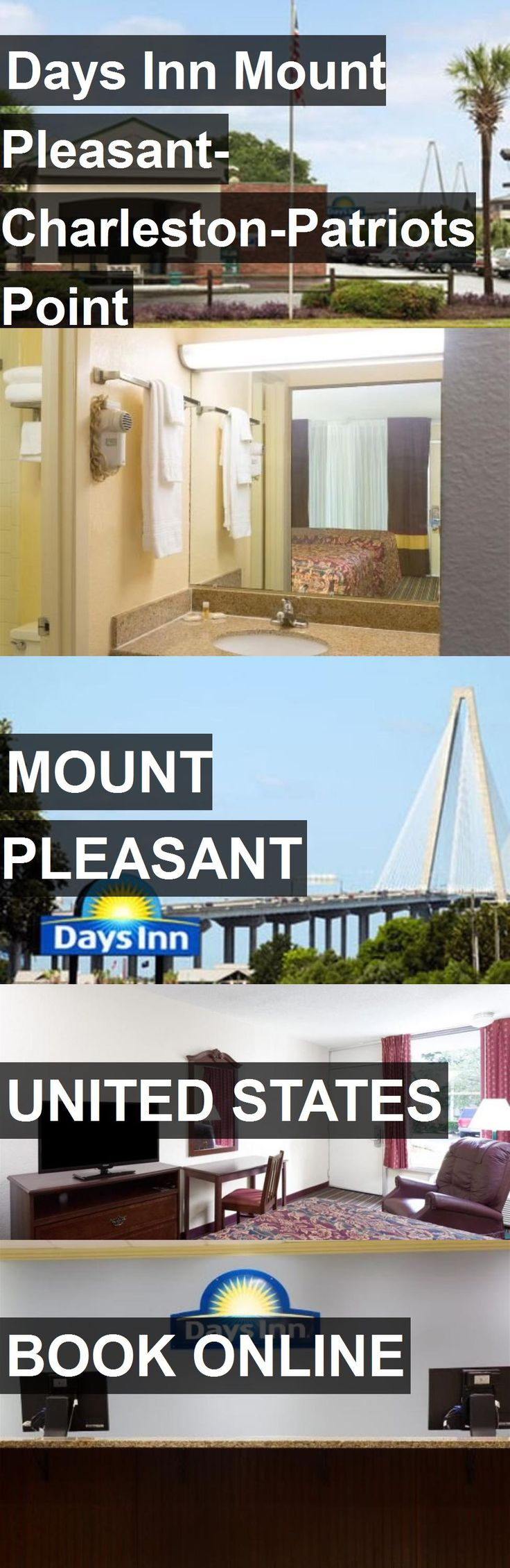 Hotel Days Inn Mount Pleasant-Charleston-Patriots Point in Mount Pleasant, United States. For more information, photos, reviews and best prices please follow the link. #UnitedStates #MountPleasant #travel #vacation #hotel