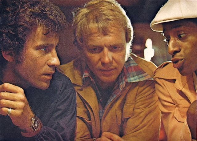 Starsky, Hutch & Huggy Bear (Paul Michael Glaser, David Soul & Antonio Fargas)