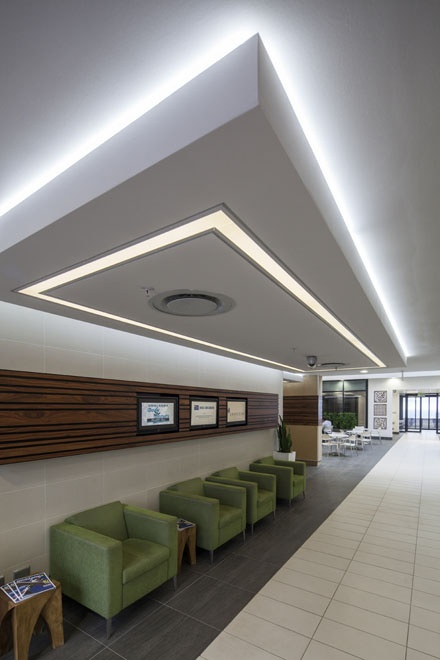 The reception area at The #Umhlanga Business Centre caters for a number of guests, while we answer your companies phone calls in your businesses' name
