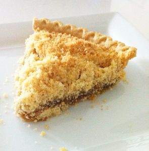 """Vegan Vanilla Pie 