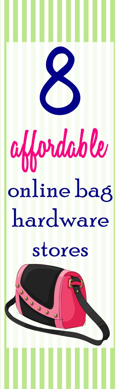 8 BEST and AFFORDABLE Online Bag Making Supplies Stores