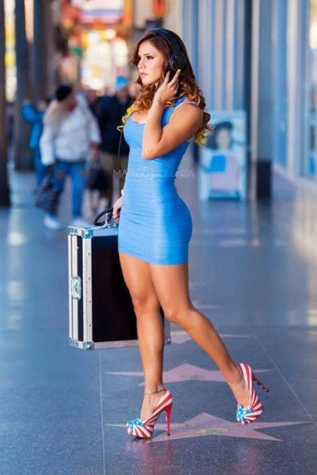 Perfect Women In Tight Dresses  Women Dresses