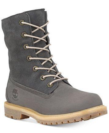 Timberland Women's Teddy Fleece Waterproof Boots | macys.com