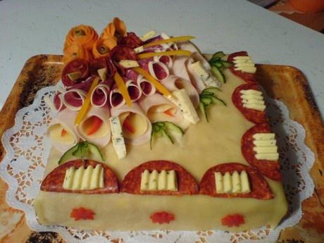 Domácí dortíky - Fotoalbum - slané dorty - slaný