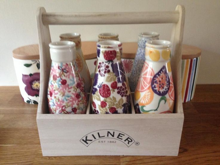 Emma Bridgewater Studio Special Large Milk Bottles for Collectors Day 2014