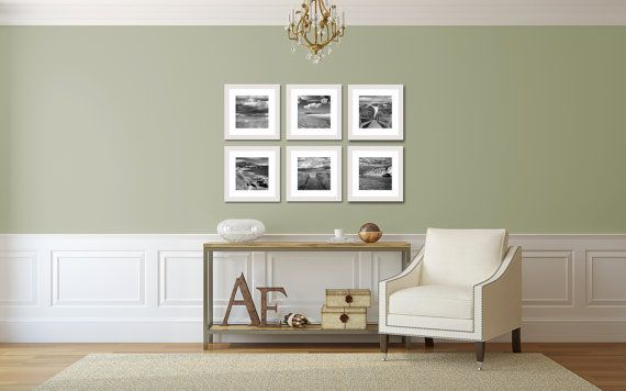 beach photo set 6 six photographs gallery wall artwork coastal wall art black white photography seascape ocean pictures living room bedroom photographs