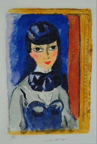 Claudine, 1960, by Kees van Dongen (Dutch 1877-1968)