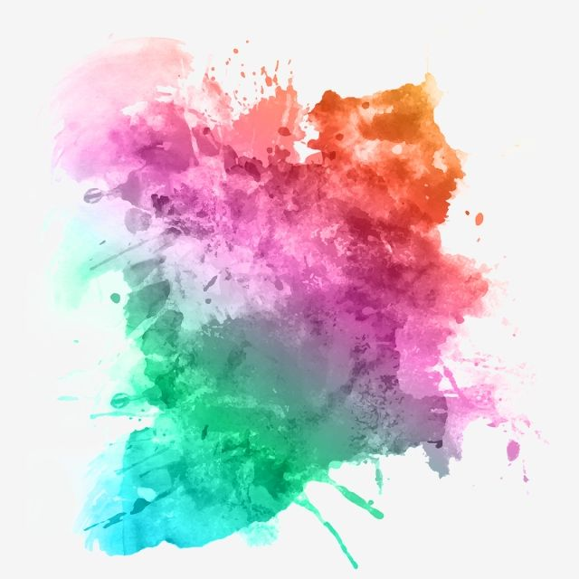 Colorful Gradient Smoke Background Smoke Colorful Png Transparent Clipart Image And Psd File For Free Download Watercolor Splatter Watercolor Art Lessons Watercolor Art Diy