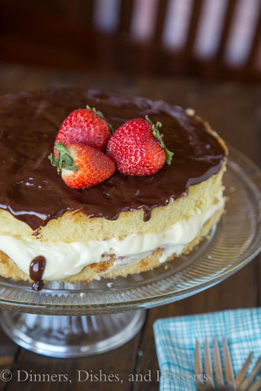 Boston Cream Pie!! Must have this at least once while we're there!