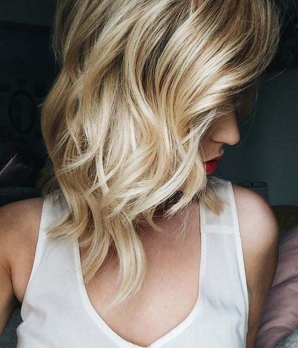 Perfect Waves Hairstyle for Shoulder Length Hair | Hairstyles Glow - Get update for latest hairstyles