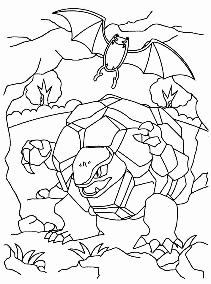 sinnoh pokemon coloring pages - photo#31