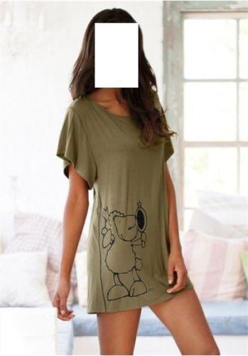 NICI Nachthemd GR 56 58 Khaki | eBay