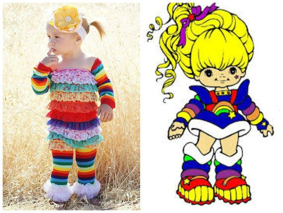 LOVED Rainbow Brite. Baby Halloween CostumesBaby CostumesToddler ...  sc 1 st  Pinterest : toddler rainbow brite costume  - Germanpascual.Com