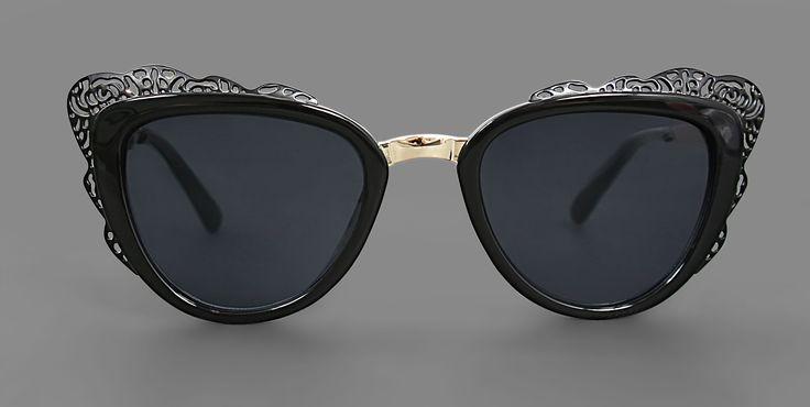 Chantilly Black Sunglasses