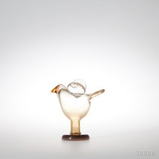 Nuutajarvi(iittala) Birds Sieppo L. 1972-1978.