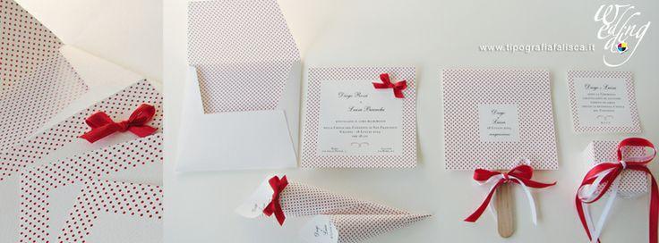 Collezione Elegant White & Red