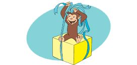 PBS Parents...Curious George Birthday party - Printables for EVERYTHING...games and crafts too.