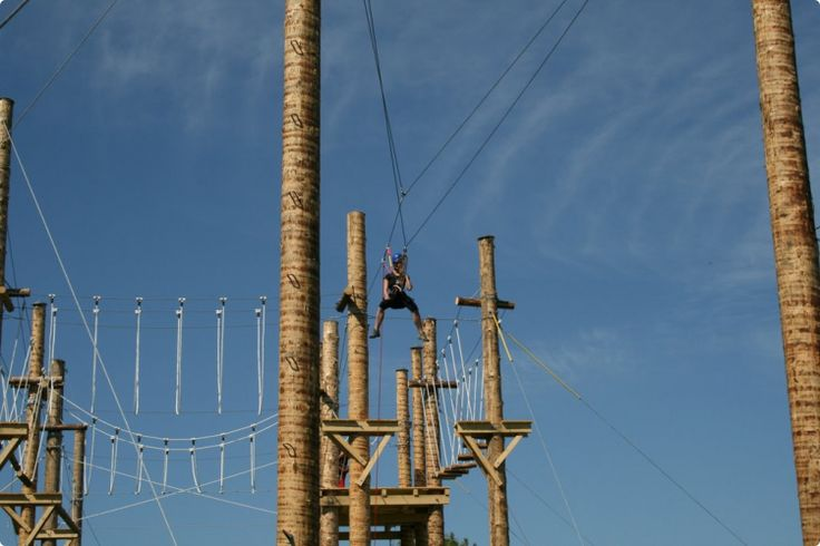 High Ropes Zip Line #zagreb #stagdo