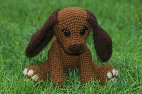 hund selber h keln diy pdf amigurumi illes handarbeit. Black Bedroom Furniture Sets. Home Design Ideas