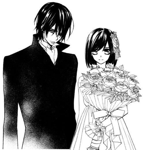 Kaname and Yuuki | ★ Vampire Knight | Pinterest | Vampire ...