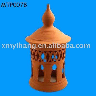 Beautiful Clay Outdoor Lantern