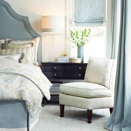 cream blue bedroomromans shades guest bedrooms blue