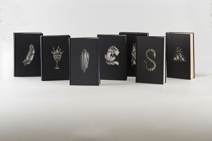 Jaw-Dropping Redesigns of the 'Harry Potter' Book Covers.  The inside is amazing and the covers are to die for!