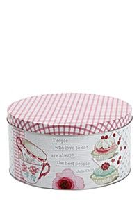 TAPESTRY CAKE TIN, LARGE