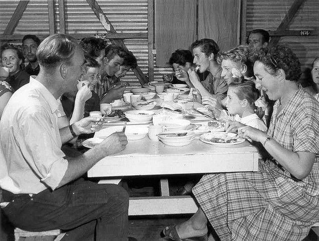 Migrants in the Bonegilla Dining Room