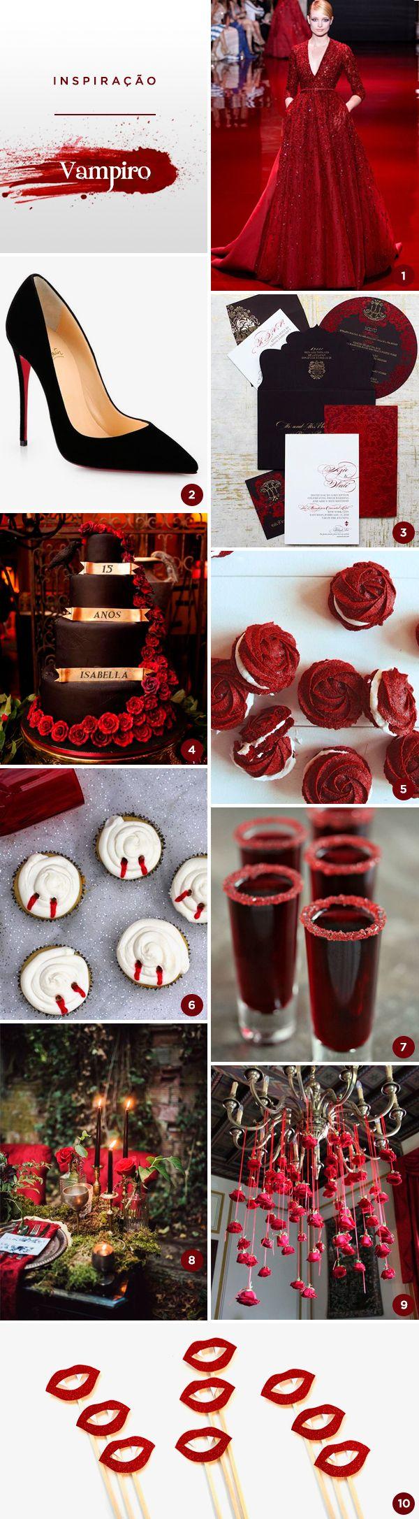Decoracao fazendinha luxo bolo falso ccs decoracoes eventos car - 10 Ideias Para Uma Festa De 15 Anos Com Tema Vampiro Constance Zahn