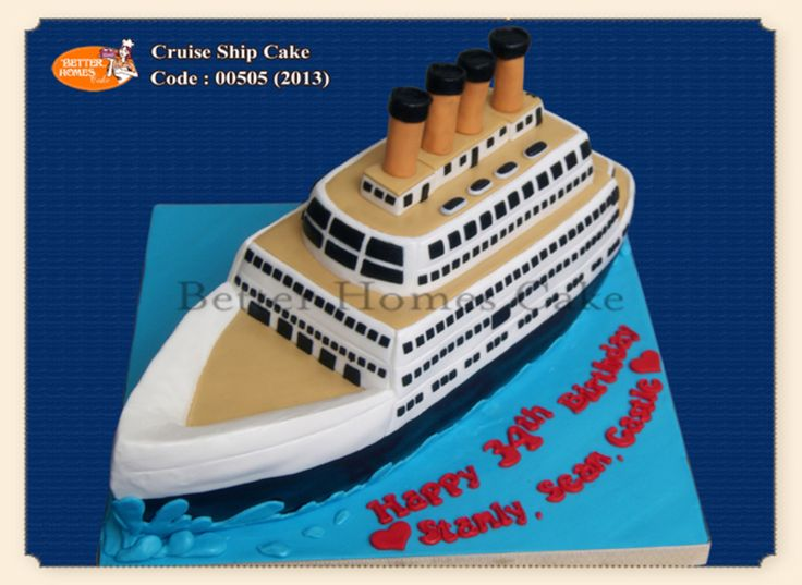 Cruise Ship Cake on Cake Central