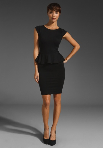 Alice & Olivia peplum dress: Fashion, Black Peplum Dresses, Style, Sleeve Peplum, Short Sleeve, Victoria Short, Olivia Victoria, Black Dress, Alice Olivia