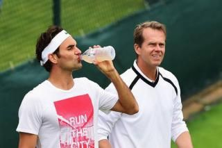 The London Evening Standard ~ Wimbledon 2015: Roger Federer still in awe of coach Stefan Edberg