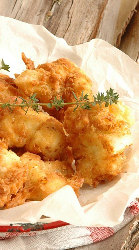 """French Fried Cauliflower"" ~ Recipe seems pretty easy.  Can't wait to try.  Yummmmmm"