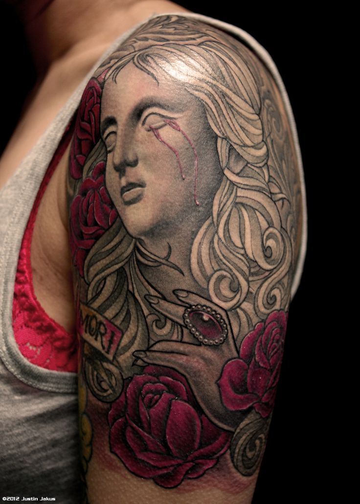 statue tattoo - Google Search | THINGS to LIKE | Pinterest ...