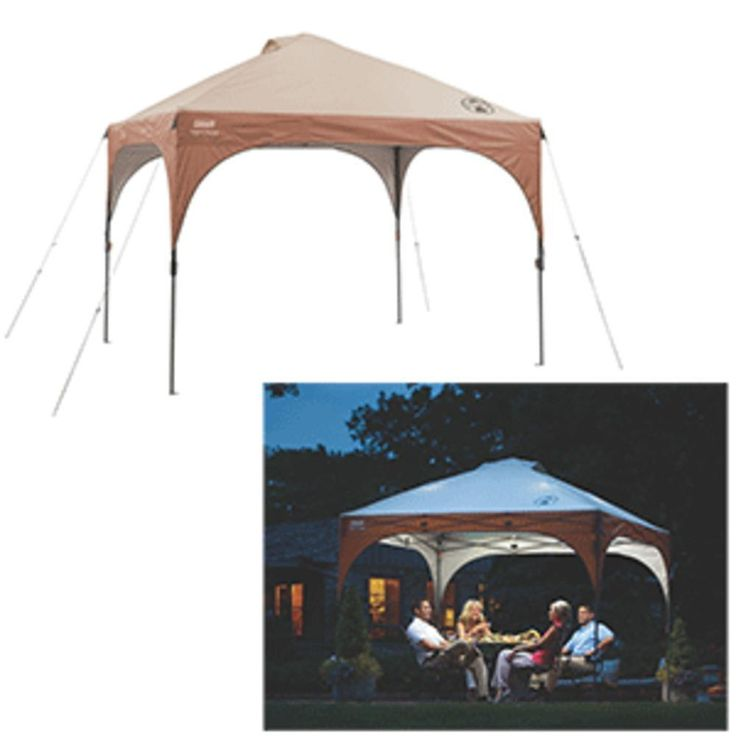 Coleman All-Night Instant Canopy w-LED Lighting System - 10 x 10