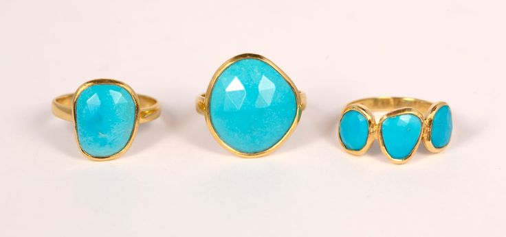 Our turquoise rings have arrived! the perfect pop of colour. A fun, yet sophisticated addition to your summer style...