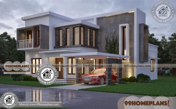 Contemporary Home Design Plans 60 Modern Double Story House Plans Kerala House Design Contemporary House Design Single Floor House Design