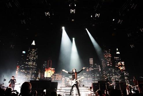 Mi primer recital de Green Day, en el Madison Square Garden. Uno de los mejores show de mi vida. Y Mike me toco la mano dios!