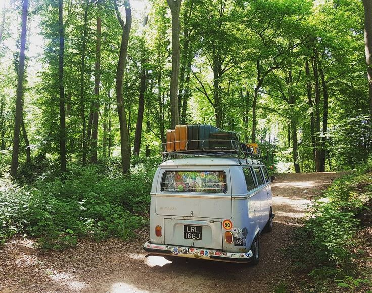 71 early bay campervan - lost in Berdorf.