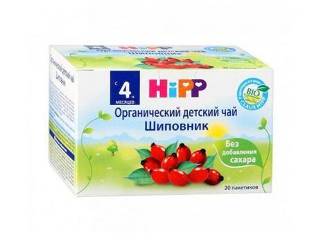 Чай Hipp органический Шиповник пакетированный 40 гр с 4 месяцев  — 175р.