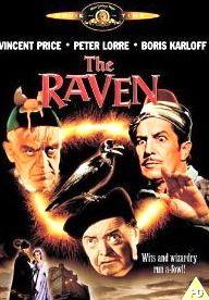 Jack Nicholson - Movie poster n°7 (1963) dvd - Le Corbeau (The Raven) de Roger Corman