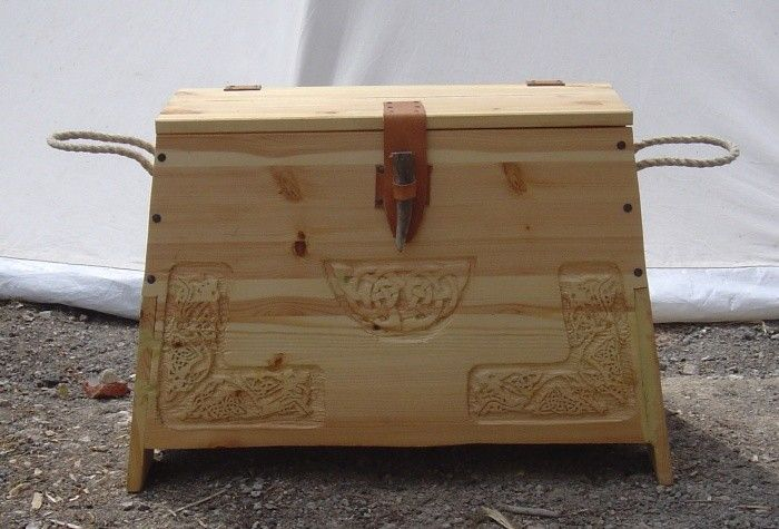 Mittelalter Küche Selber Bauen Viking Chest - Instructions Included (german Website