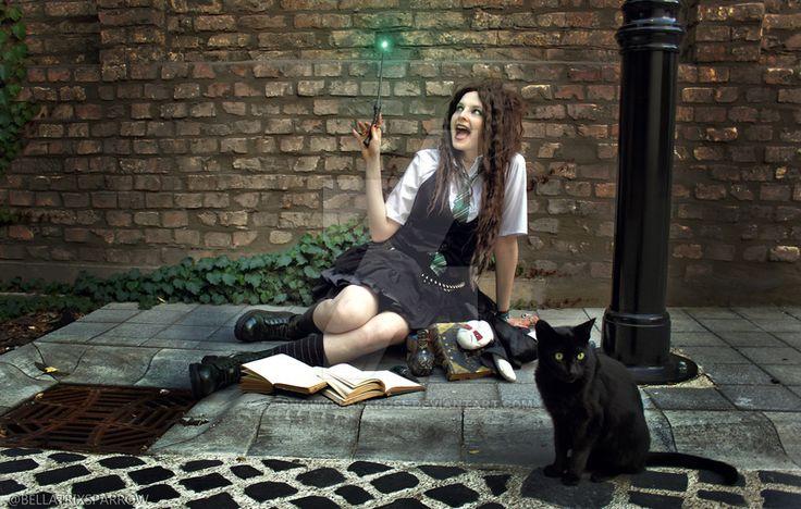 Young Bellatrix cosplay