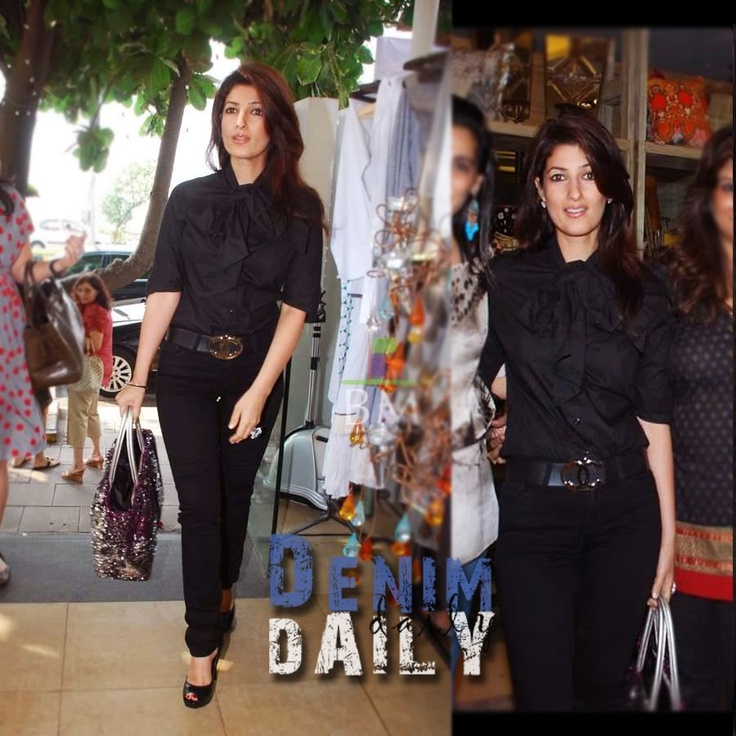 1 of my style muses, Twinkle Khanna