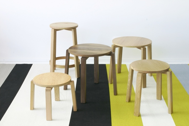 Kantti stools and tables by Deka Design
